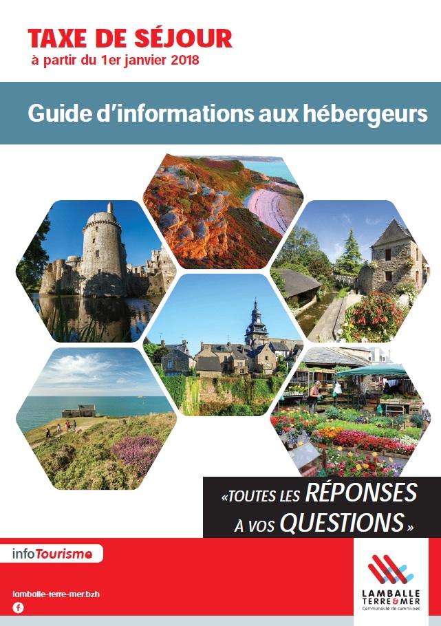 Guide d'informations aux hébergeurs de Lamballe Terre et Mer